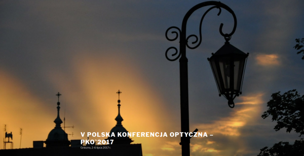 Polish Optical Conference 2017