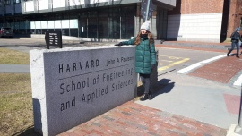 Lab visit to the Harvard University