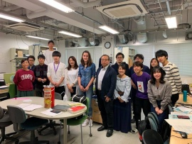 Lab visit to the Kyushu Institute of Technology