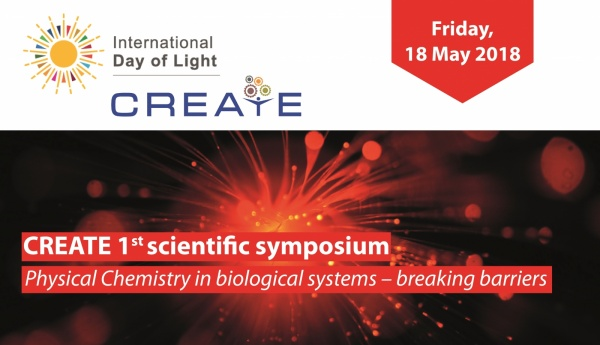Join the CREATE 1. scientific syposium - 18 May 2018